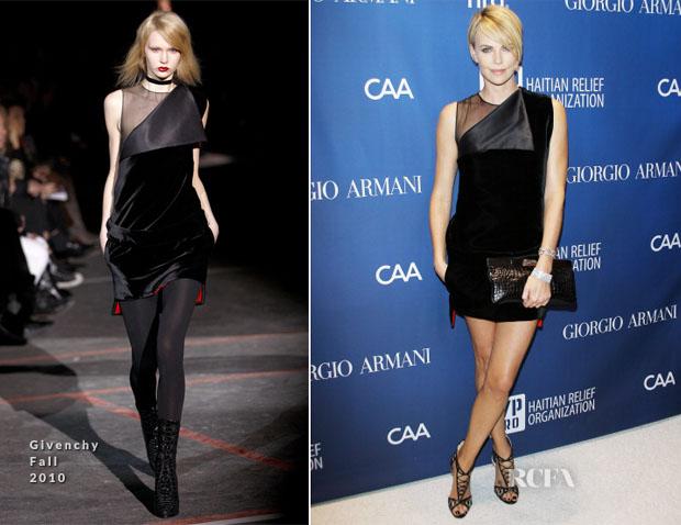 Charlize-Theron-In-Givenchy-F10-Sean-Penn-3rd-Annual-Help-Haiti-Home-Gala