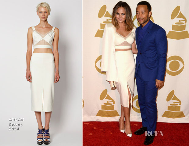 a3358bad1f9 Chrissy Teigen In ADEAM - The Night That Changed America A Grammy Salute To  The Beatles