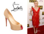 Christina Applegate's Christian Louboutin 'Vendome' Pumps