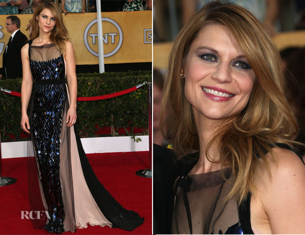 Claire Danes In Vionnet - 2014 SAG Awards