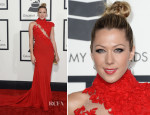 Colbie Caillat In Ezra Santos - 2014 Grammy Awards