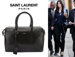 Courteney Cox' Saint Laurent 'Classic Duffle 6' Tote