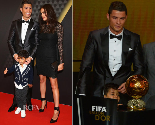 Cristiano Ronaldo In Dsquared² - FIFA Ballon d'Or