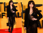 Daisy Lowe In Saint Laurent - 'The Wolf of Wall Street' London Premiere