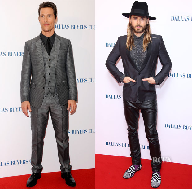 'Dallas Buyers Club' London Premiere Menswear Roundup