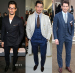 David Gandy @ The London Collections: Men Autumn/Winter 2014