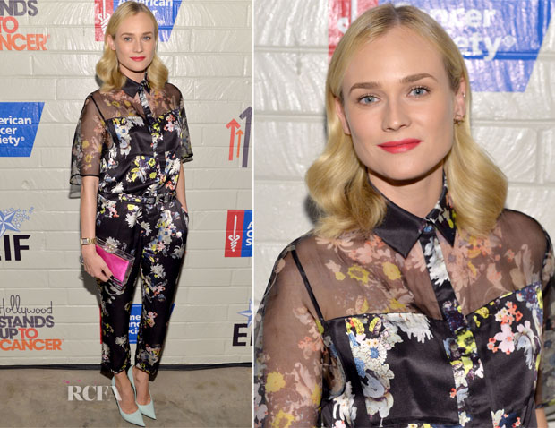 Diane Kruger In Erdem - Hollywood Stands Up To Cancer