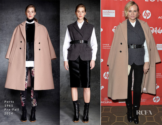 Diane Kruger In Ports 1961 - 'The Better Angels' Sundance Film Festival Premiere