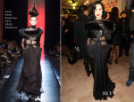 Dita von Teese In Jean Paul Gaultier Couture - Sidaction Gala Dinner