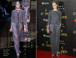 Elizabeth Debicki In Armani Privé - 3rd Annual AACTA Awards