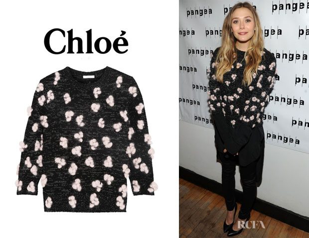 Elizabeth 's Chloé Candyfloss Sweater
