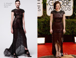 Elisabeth Moss In J.Mendel - 2014 Golden Globe Awards