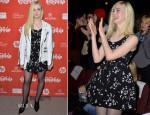 Elle Fanning In Miu Miu - 'Low Down' Sundance Film Festival Premiere