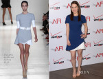 Emilia Clarke In Victoria Beckham - AFI Awards 2014