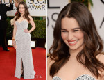 Emilia Clarke In Proenza Schouler - 2014 Golden Globe Awards