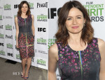 Emily Mortimer In Preen - 2014 Film Independent Filmmaker Grant And Spirit Awards Nominees Brunch