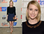Emma Roberts In Kate Spade New York - Hollywood Stands Up To Cancer