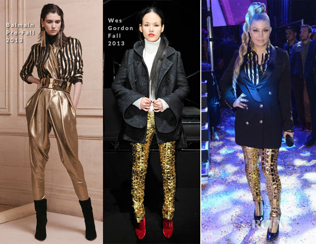 Fergie In Aryn K, Wes Gordon - Dick Clark's New Year's Rockin' Eve 2014