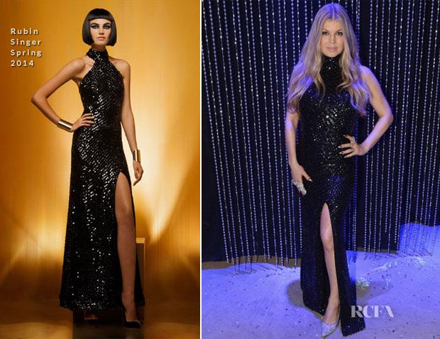 Fergie In  Rubin Singer - Dick Clark's New Year's Rockin' Eve 2014