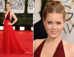 Amy Adams In Valentino - 2014 Golden Globe Awards