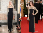 Lizzy Caplan In Emilio Pucci - 2014 Golden Globe Awards