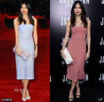 Gemma Chan In Burberry Prorsum - 'Jack Ryan: Shadow Recruit' London & LA Premiere