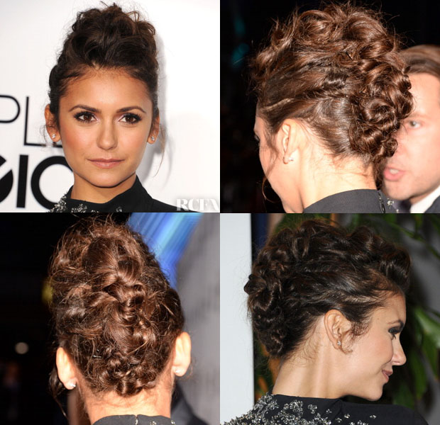 Get the Look Nina Dobrev's 'Knot-Hawk' at the People's Choice Awards