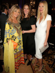 Goldie Hawn, Julia Roberts in Valentino, Gwyneth Paltrow In Burberry - Sean Penn 3rd Annual Help Haiti Home Gala