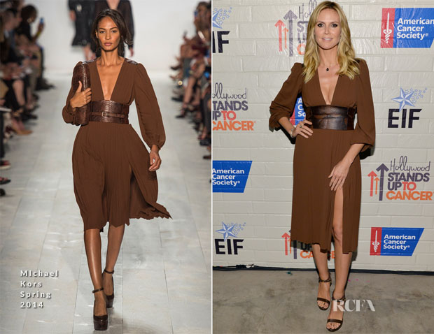 Heidi Klum In Michael Kors - Hollywood Stands Up To Cancer