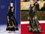 Helen Mirren In Escada - 2014 SAG Awards