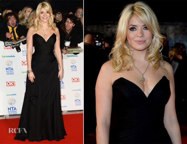 Holly Willoughby In Suzanne Neville  - National Television Awards 2014