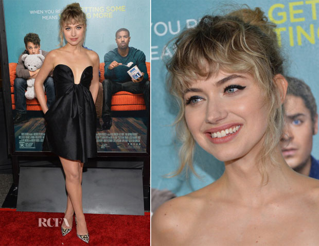 Imogen Poots In Stella McCartney - 'That Awkward Moment' LA Premiere