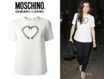 Imogen Thomas' Moschino Cheap & Chic T-Shirt