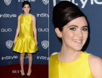 Isabelle Fuhrman In Paper London  - InStyle and Warner Brothers Golden Globes Awards Party