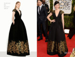 Julianna Margulies In Andrew Gn - 2014 Golden Globe Awards