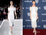 Jaime King In Prabal Gurung - InStyle and Warner Brothers Golden Globes Awards Party