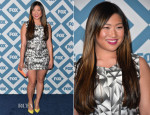 Jenna Ushkowitz In Alax W Diamond - FOX All-Star 2014 Winter TCA Party