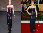 Jennifer Lawrence In Christian Dior Couture - 2014 SAG Awards