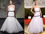Jennifer Lawrence In Christian Dior Couture - 2014 Golden Globe Awards