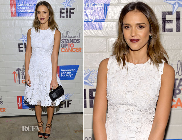 Jessica Alba In Ralph Lauren Collection - Hollywood Stands Up To Cancer