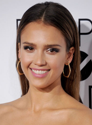 Jessica Alba People Choice Awards Makeup