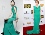 Jessica Chastain In Nina Ricci - 2014 Critics' Choice Movie Awards