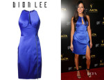 Jessica Gomes' Dion Lee 'Radius Poly' Dress