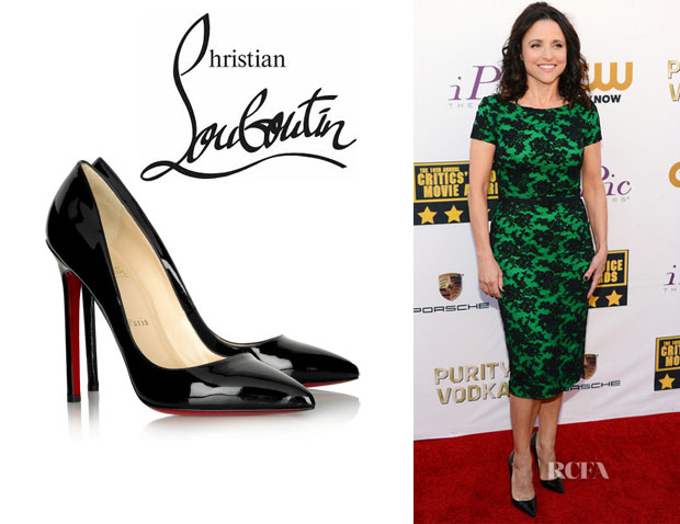 Julia Louis-Dreyfus' Christian Louboutin 'Pigalle' Pumps