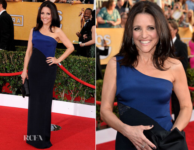 Julia Louis-Dreyfus In Monique Lhuillier - 2014 SAG Awards