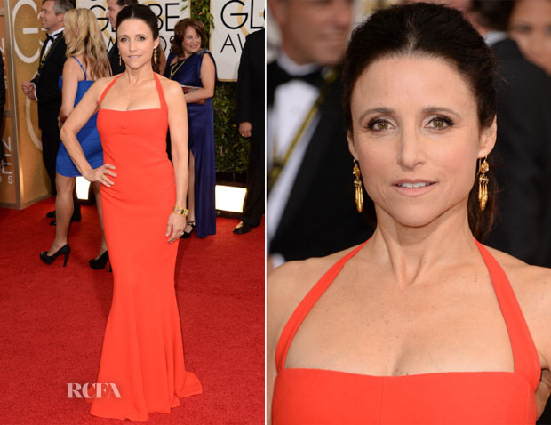 Julia Louis-Dreyfus In Narciso Rodriguez- 2014 Golden Globe Awards