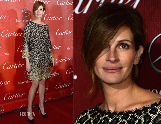 Julia Roberts In Gucci - 2014 Palm Springs International Film Festival Awards Gala