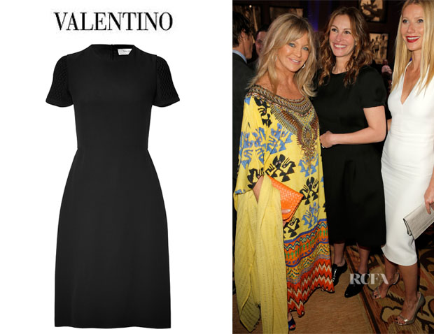 Julia Roberts' Valentino Silk Dress