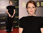Julianne Moore In Balenciaga - 'Non Stop' Paris Premiere