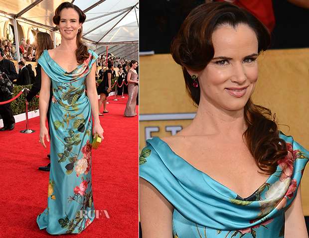 Juliette Lewis In Vivienne Westwood Gold Label - 2014 SAG Awards